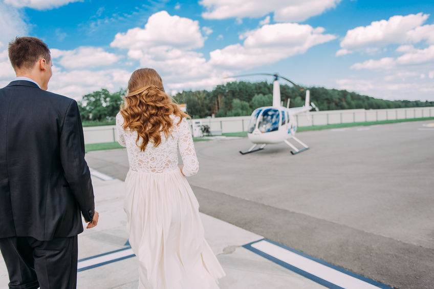 Why Choose a Helicopter for Your Special Event?