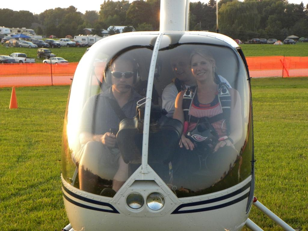Treat Your Spouse to a Surprise Helicopter Tour