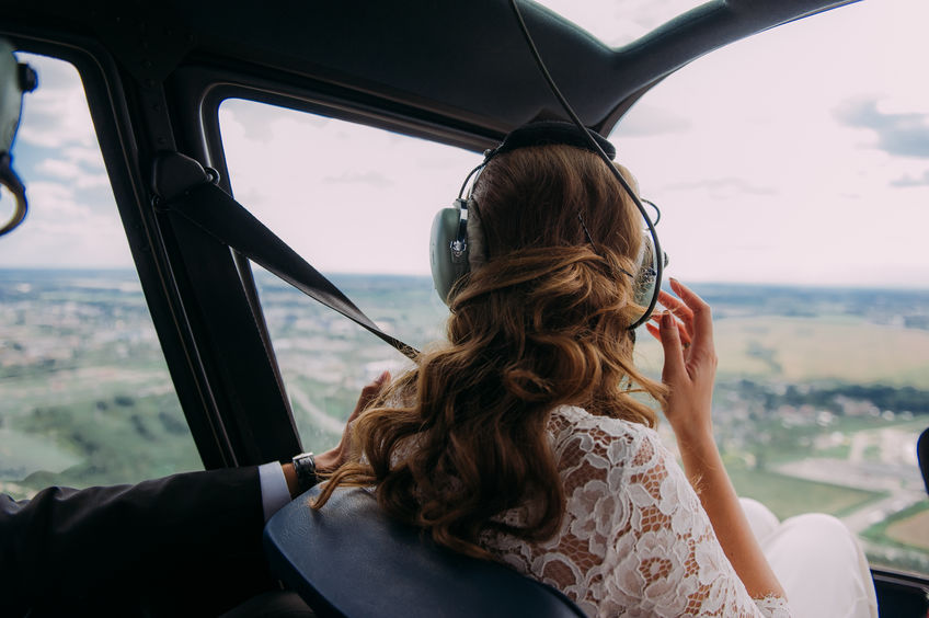 Choose a Helicopter for Your Wedding