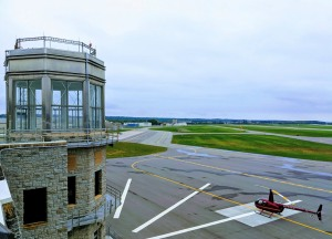 helipad at St. Paul, Minnesota airport